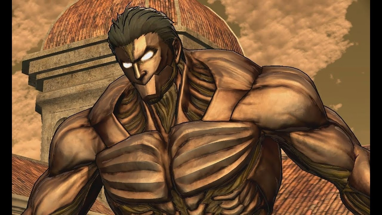 Eren Fight With The Black Armored Titan Attack On Titan Wings Of Freedom Youtube