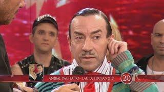 """Showmatch 2014 - Aníbal Pachano fue muy duro con Alex Freyre: """"Es un terrorista de la enfermedad"""""""