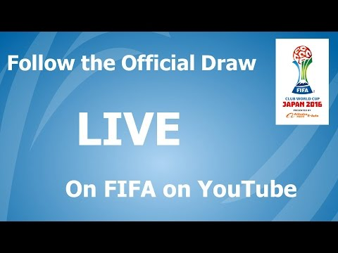 REPLAY: DRAW FIFA Club World Cup Japan 2016 [OFFICIAL]