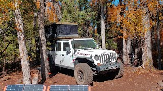 FIRST TIME Truck Camṗing in Colorado with Off Grid Backcountry Adventures