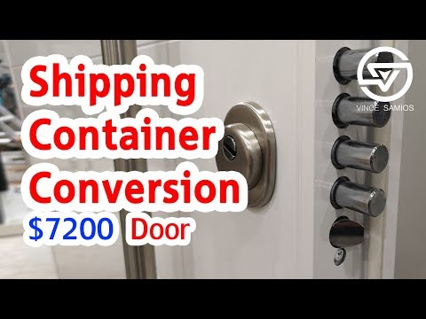 $7200 DOOR! – Shipping container home office – shipping container conversion