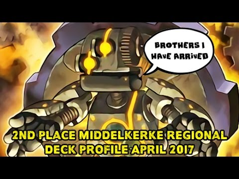 Gadgets Top A Regional in 2017! 2nd Place Ryan Jacobs Middelkerke Yugioh Regional