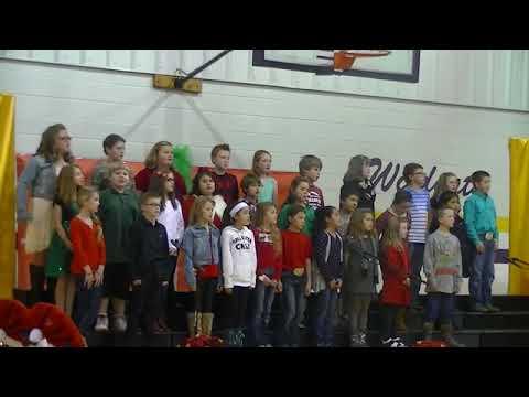 Wister Elementary School Christmas Program 2014