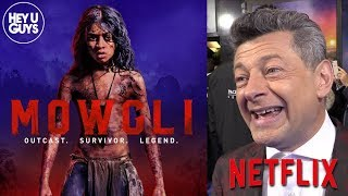Mowgli Red Carpet - Andy Serkis, Eddie Marsan & more on creating this new Legend of the Jungle