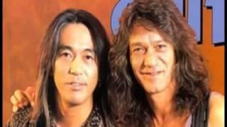 B'z 松本孝弘がギターの話でエディ・ヴァンヘイレンとの対談し仲良くな...