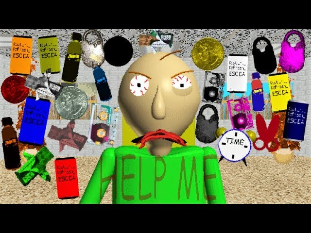 Dantdm Baldi Roblox Baldi Can T Handle 25 Items It S Too Many Baldi S Basics Mod
