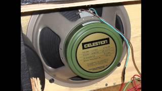 Celestion v30 vs Celestion Greenback G12m - Marshall jcm 800 2204 + Vox Ac15