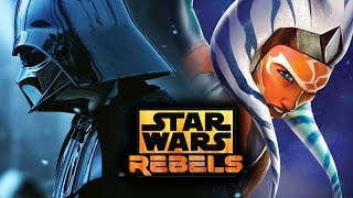 Star Wars Rebels Season 2: Ahsoka vs Darth Vader Duel & Princess Leia's Appearance (Star Wars News)