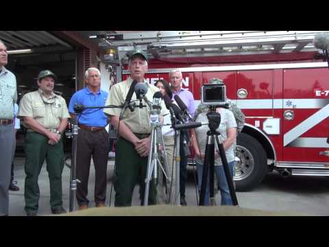 Live - Governor Jay Inslee & USFS Chief Tom Tidwell on Twisp, WA Fatalities