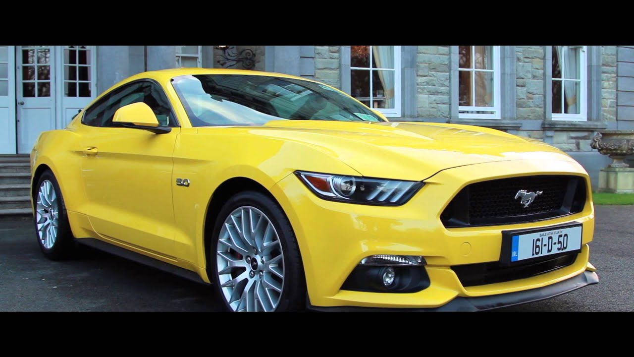 First drive ireland ford mustang the car for the people