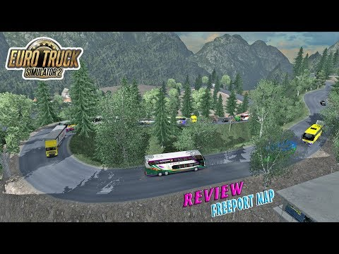 EXTREME MAP - Review Map FreePort By Ojepeje Team, SDD Karina Masuk Jura4ng :v - ETS2 MOD INDONESIA - 동영상