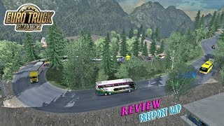 EXTREME MAP - Review Map FreePort By Ojepeje Team, SDD Karina Masuk Jura4ng :v | ETS2 MOD INDONESIA