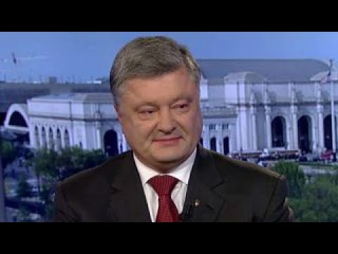 Petro Poroshenko on Ukraine-US relations, Russia tensions