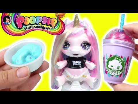 Poopsie Unicorn Slime ilk Defa Slime Yaptım 2. Bölüm Zep'in Oyuncakları
