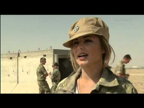Behind The Scenes With Cheryl Cole In Afghanistan | Forces TV