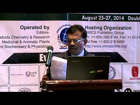 P Mehalingam and S Aron| V.H.N. Senthikumara Nadar College | India | Pharmacognosy 2014 | OMICS