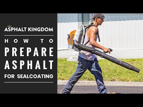 Learn How To Prepare Asphalt For Proper Sealcoating