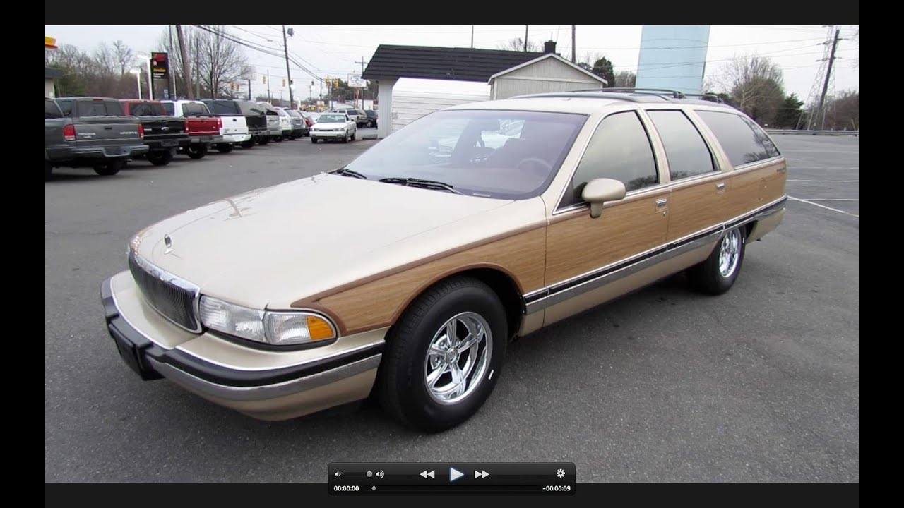 1994 buick roadmaster estate wagon start up, exhaust, and in depth