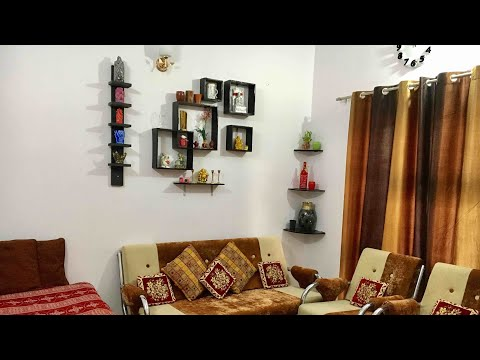 Interior design ideas for small house/apartment in Indian style   by creative ideas