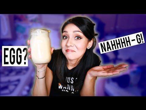 EGG? NAHHHH-G! (Vegan EggNog) - #ThirstyThursday