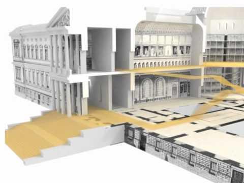 Proyecto de Francisco Jareño para la Biblioteca Nacional de España