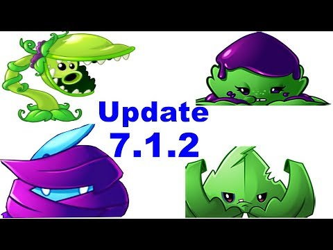 PvZ2 Update 7.1.2 Unlock Snap Pea And New 3 Mint In Plants Vs Zombies 2