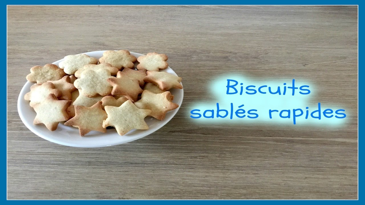 biscuits sables au thermomix