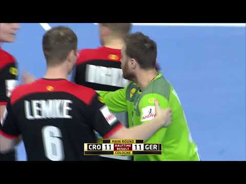 Croatia 21:22 Germany (Main Round) | IHFtv - Germany Denmark 2019