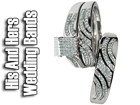 his-and-hers-wedding-bands-white-gold---his-and-hers-wedding-band-sets