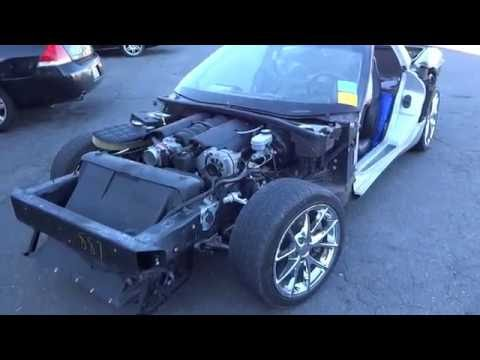 1999 C5 Corvette Rolling Chassis for Sale