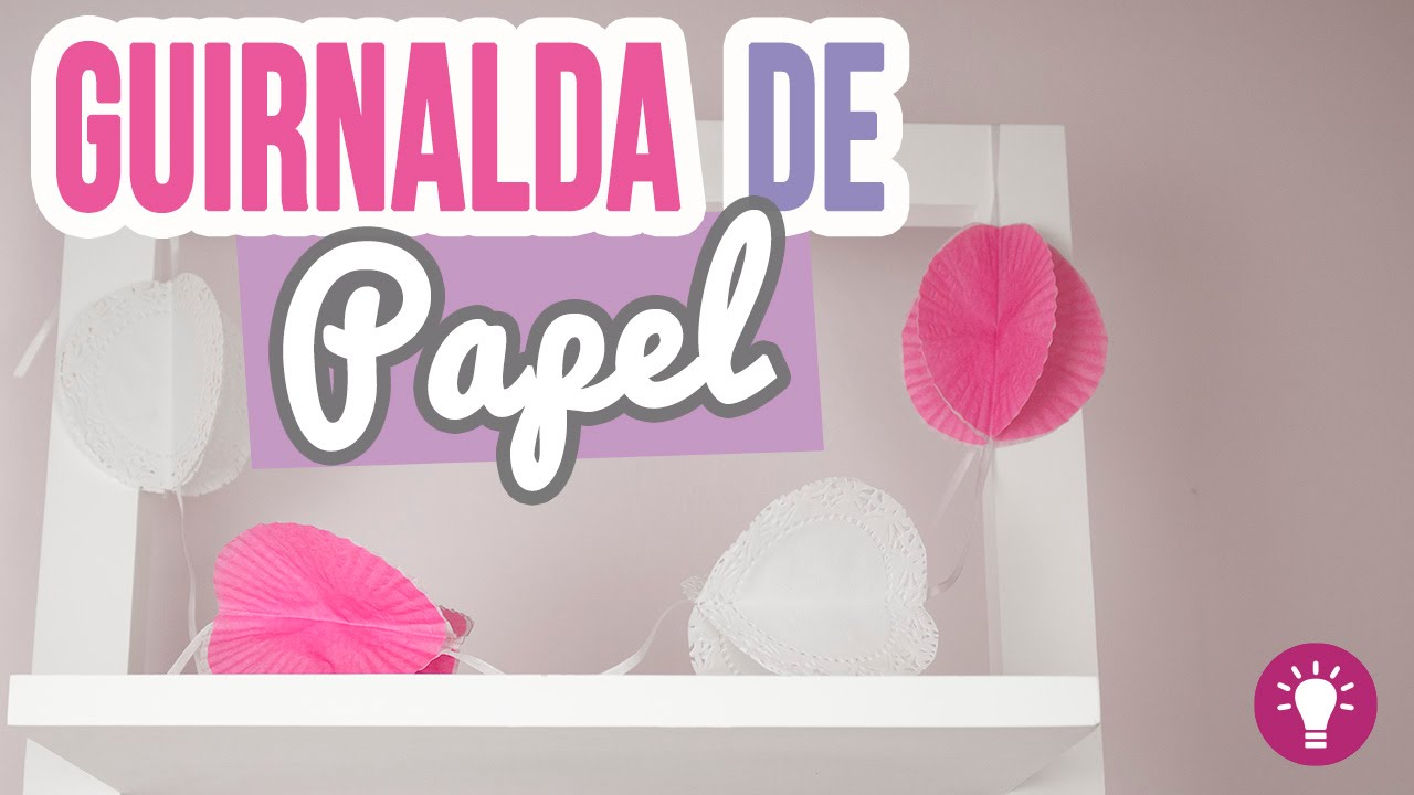 guirnaldas de papel para decorar tu cuarto ideas fciles mini tip catwalk