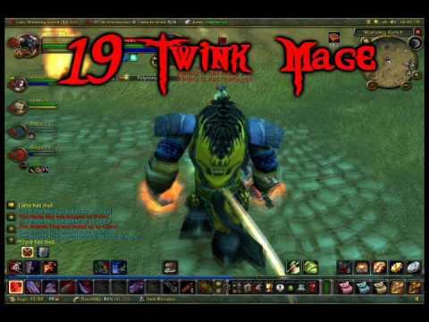 19 warrior twink items