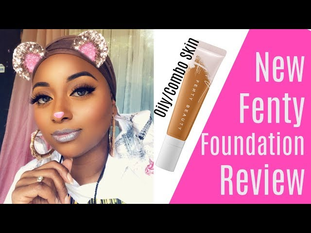New Fenty Longwear Foundation Review Oily skin 430 || Vicariously Me