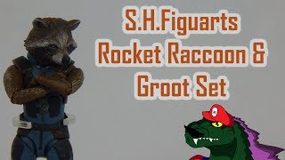 S.H.Figuarts Rocket Raccoon and Groot Set Review