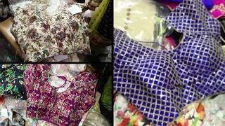 Parrys corner shopping / Readymade blouse / Dewali shopping patrt 2