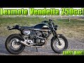 Lexmoto Vendetta 250cc - First Ride!