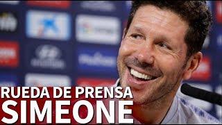 Villarreal-Atlético de Madrid | Rueda de prensa de Simeone | Diario As