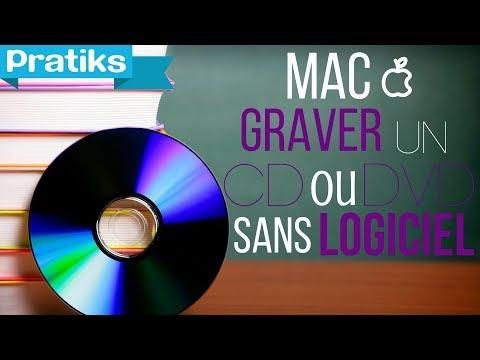 Comment graver un CD ou un DVD sans logiciel sur Mac