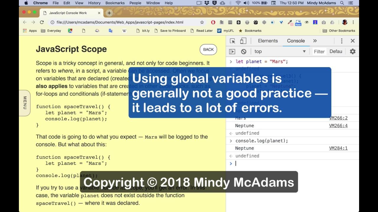 js29 Scope in JavaScript