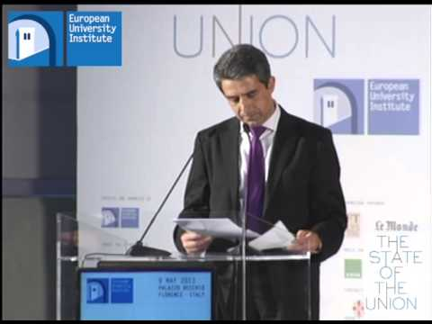 Rosen Plevneliev - #SoU2013 Morning Session