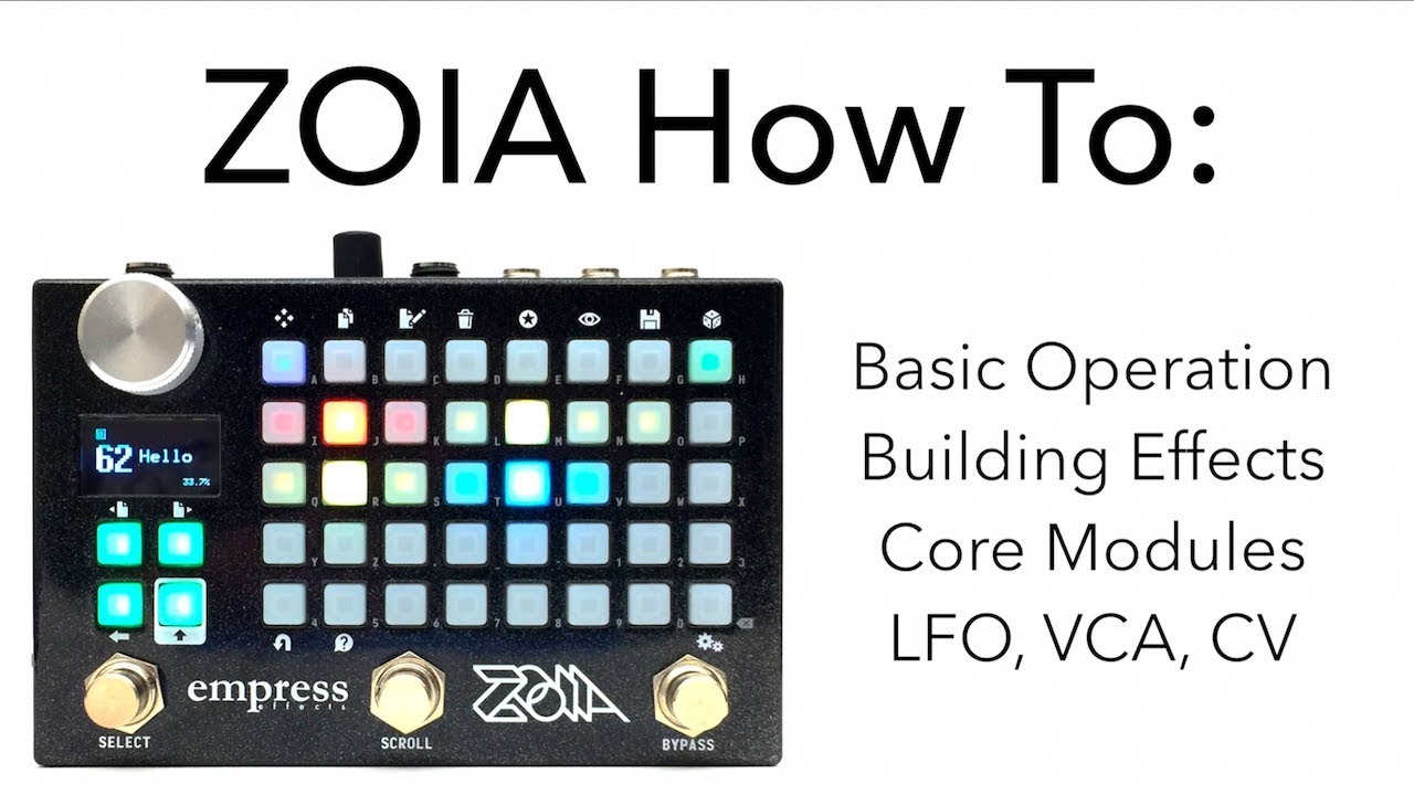 ZOIA – Empress Effects Inc
