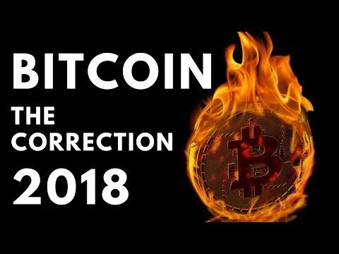 Bitcoin - The Correction 2018