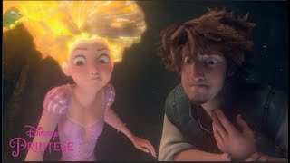 Rapunzel își dezvăluie secretul | O poveste încâlcită | Disney Prințese