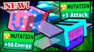*NEW* MUTATED BEES LEAK, MUTATION STAT BOOSTS! | Roblox Bee Swarm Simulator