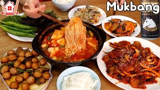 Couple Mukbang│Cook and enjoy various foods of typical Korean home meal.