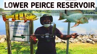 FISHING AT LOWER PIERCE RESERVOIR