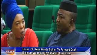 House Of Reps Wants Buhari To Forward Draft Minimum Wage Bill To National Assembly