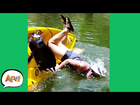 Why Did She Think She WOULDN'T FAIL?! 🤣 | Best Funny Fails | AFV 2021