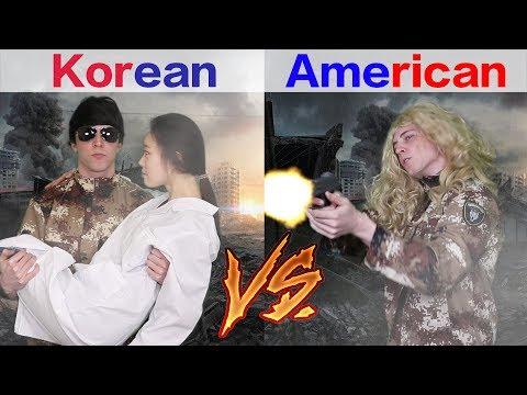 Korean Drama vs. American Drama 韩剧vs美剧
