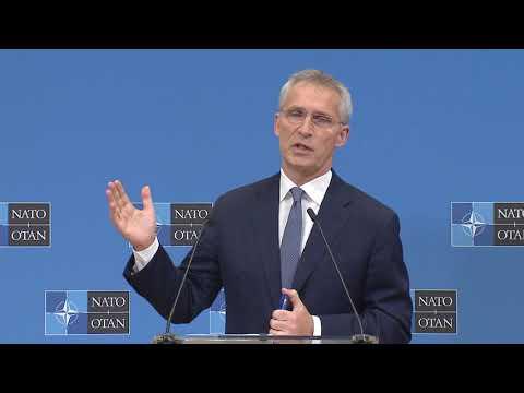 NATO Secretary General pre-ministerial press conference, 20 OCT 2021